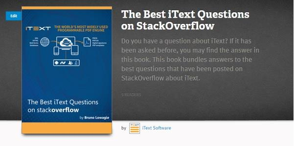 Publishing a code sample book from Stackoverflow to LeanPub
