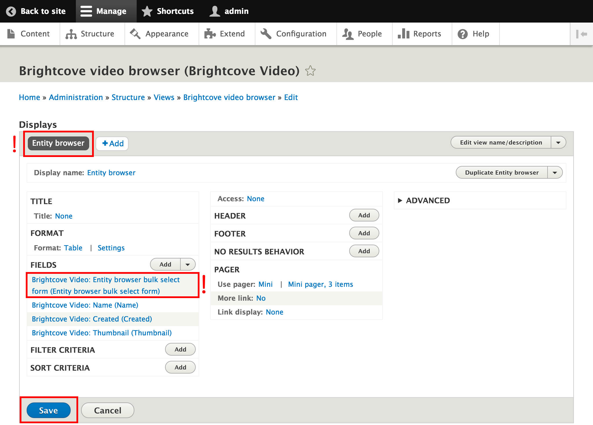 Brightcove Video Connect for Drupal 8 - Part 4: Including