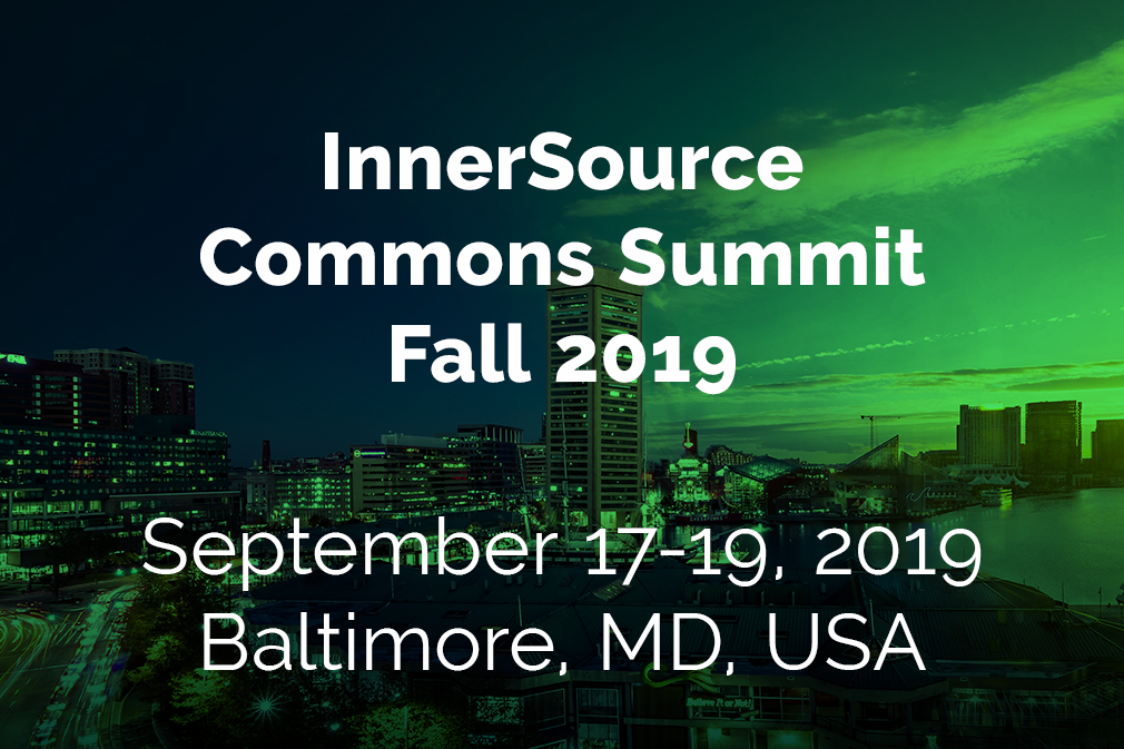 InnerSource Commons Fall Summit 2019